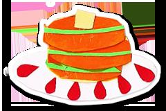 緑茶ホットケーキ