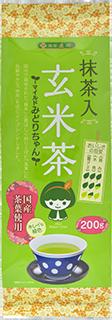 土倉抹茶入玄米茶マイルド緑