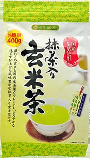 土倉抹茶入玄米茶