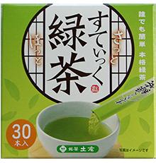 土倉すてぃっく緑茶