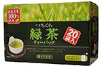 つちくら大入り緑茶ティーバック